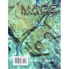 Mage The Awakening - Character Sheet Pad (jdr Mage L'Eveil en VO)