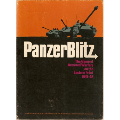 PanzerBlitz - Armored Warfare on the Eastern Front 1941-45 (wargame Avalon Hill en VO) 001