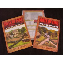 Rate of Fire - World War 2 Skirmish Rules (lot 2 livrets de règles en VO)