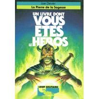 Loup Solitaire N° 6 - La Pierre de la Sagesse (Un livre dont vous êtes le Héros) 001