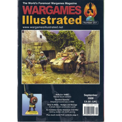 Wargames Illustrated N° 251 (The World's Foremost Wargames Magazine) 001