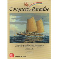 Conquest of Paradise - Empire Building in Polynesia 500 A.D.  (wargame GMT) 001
