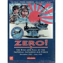 Zero ! - Série Air Combat Down in Flames (wargame avec cartes GMT) 001