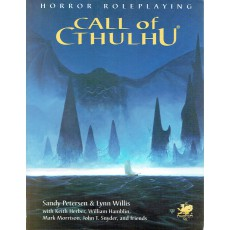 Call of Cthulhu - Horror Roleplaying (Livre de base édition 5.5 en VO)