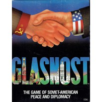Glasnost - The Game of Soviet-American Peace and Diplomacy (jeu de stratégie en VO) 001