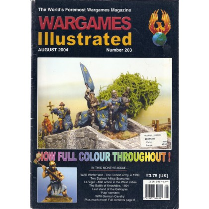 Wargames Illustrated N° 203 (The World's Foremost Wargames Magazine) 001
