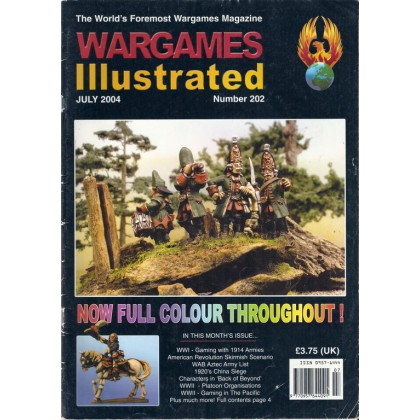 Wargames Illustrated N° 202 (The World's Foremost Wargames Magazine) 001