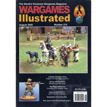 Wargames Illustrated N° 215 (The World's Foremost Wargames Magazine) 001