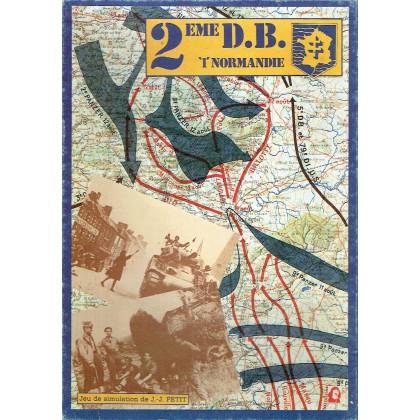 """2ème D.B. """"1"""" Normandie (wargame Jeux Descartes en VF) 001"""