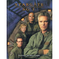 Stargate SG1 - Role Playing Game (livre de base jdr en VO) 001