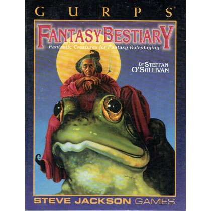 Fantasy Bestiary - Fantastic Creatures for Fantasy RPG (jdr GURPS 3ème édition VO) 002