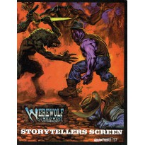Werewolf The Wild West - Storytellers Screen (Ecran seul de jdr en VO) 001