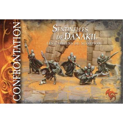 Sentinelles de Danakil - Les Gardiens du Scorpion (boîte de figurines Confrontation) 001