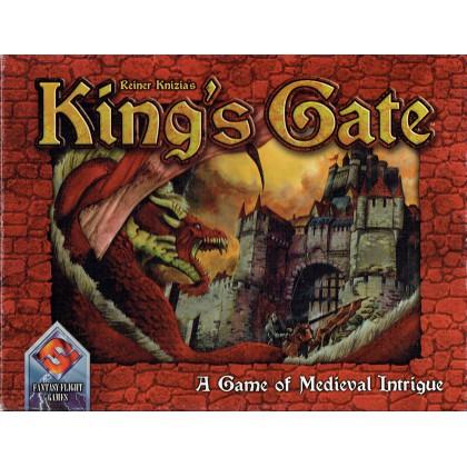 King's Gate - A Game of Medieval Intrigue (jeu de stratégie FFG) 001
