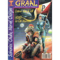 Graal N° 11 (Mensuel de jeux de rôles) 001