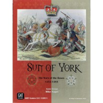 Sun of York - The Wars of the Roses 1453-1485 (wargame de GMT en VO) 001