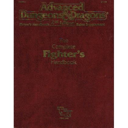 The Complete Fighter's Handbook (jdr AD&D 2ème édition VO) 003