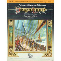 Dragonlance - DL6 Dragons of Ice (jdr AD&D 1ère édition) 001