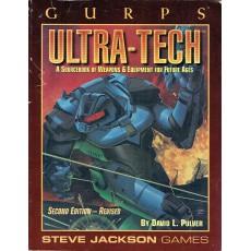 Ultra-Tech (GURPS Rpg Third edition revised en VO)
