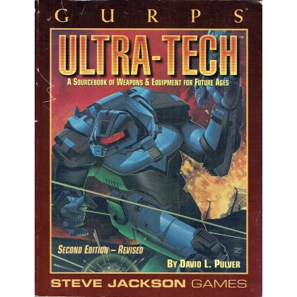 Ultra-Tech (GURPS Rpg Third edition revised en VO) 001