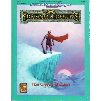 FR14 The Great Glacier (AD&D 2ème édition - Forgotten Realms) 001