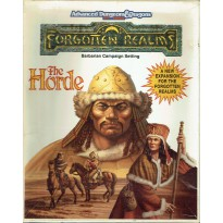 The Horde - Barbarian Campaign Setting (AD&D 2ème édition - Forgotten Realms) 001