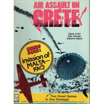 Air Assault on Crete + Invasion of Malta (wargame Avalon Hill) 001