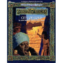 FMQ1 City of Gold (jdr AD&D 2ème édition - Forgotten Realms) 001