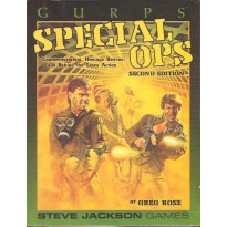 Special Ops (jdr GURPS Second edition en VO)