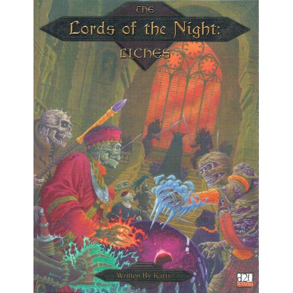 The Lords of the Night : Liches (d20 System en VO) 001