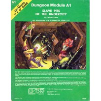 A1 Slave Pits of the Undercity (jdr AD&D 1ère édition) 002