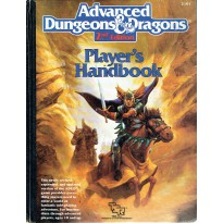 Player's Handbook (jdr AD&D 2nd edition en VO) 002