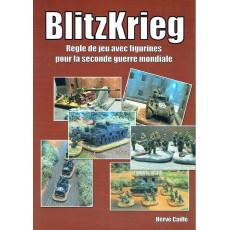 BlitzKrieg - Règle de jeu avec figurines pour la seconde guerre mondiale (Livre V1 en VF)