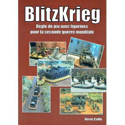 BlitzKrieg - Règle de jeu avec figurines pour la seconde guerre mondiale (Livre V1 en VF) 001