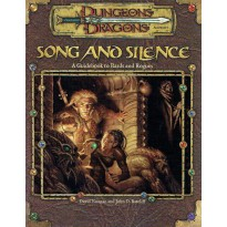 Song and Silence (jdr Dungeons & Dragons 3.0 en VO) 001