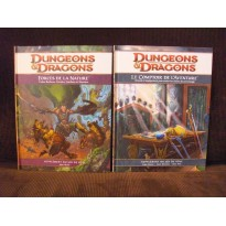 Lot Forces de la Nature & Le Comptoir de l'Aventure (jdr D&D 4) L033