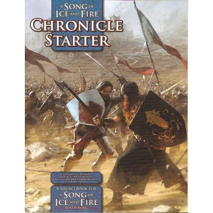 A Song of Ice and Fire - Chronicle Starter (jdr Le Trône de Fer en VO) 001