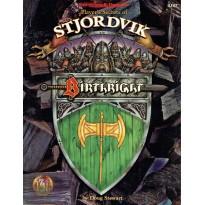 Birthright - Player's Secrets of Stjordvik (jdr AD&D 2ème édition révisée) 001