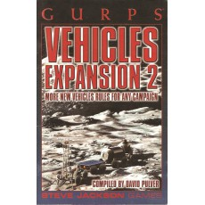 Vehicles Expansion 2 (jdr GURPS First edition en VO)