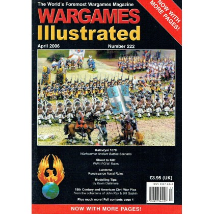 Wargames Illustrated N° 222 (The World's Foremost Wargames Magazine) 002