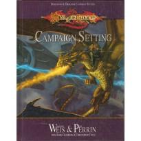 Dragonlance - Campaign Setting 001 (D&D 3.0 et d20 System)