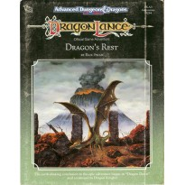 DLA3 Dragon's Rest (jdr Dragonlance - AD&D 2e édition en VO)