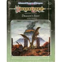 Dragonlance - DLA3 Dragon's Rest (jeu de rôle AD&D 2ème édition)