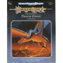 Dragonlance - DLA2 Dragon Knight (AD&D 2ème édition)