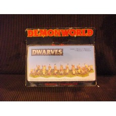 Dwarves - Nains mineurs (figurines fantastiques Demonworld)