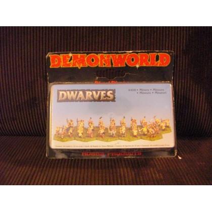 Dwarves - Nains mineurs (figurines fantastiques Demonworld) 001