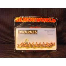 Dwarves - Nains arbalétriers (figurines fantastiques Demonworld)