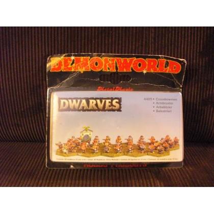 Dwarves - Nains arbalétriers (figurines fantastiques Demonworld) 001