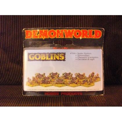 Goblins - Chasseurs d'araignées gobelins (figurines fantastiques Demonworld) 001