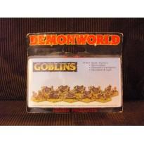 Goblins - Chasseurs d'araignées gobelins (figurines fantastiques Demonworld)